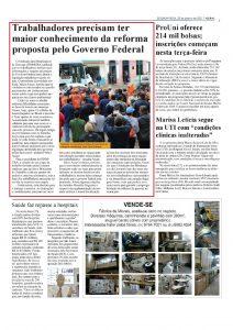 30.01.17 Jornal de Gravatai Sindicato dos Metalurgicos de Gravatai