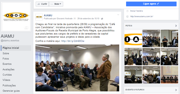 Redes Sociais AIAMU